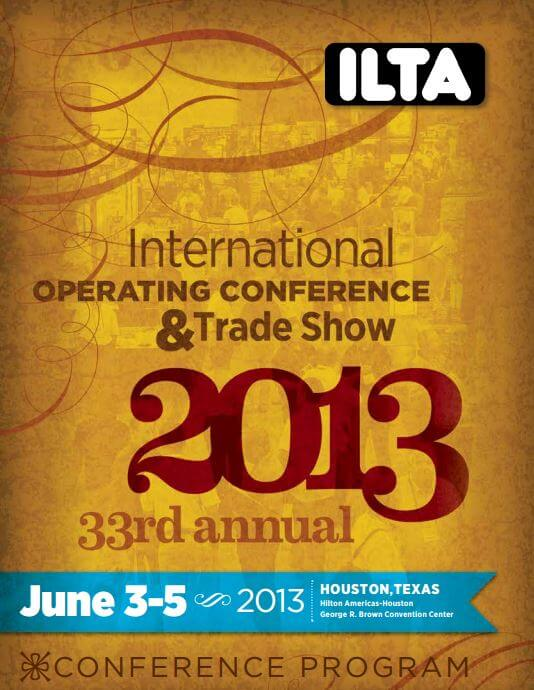 Program from the June ILTA meeting (pdf)