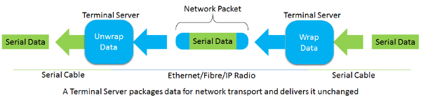 Terminal Servers for Network Transport