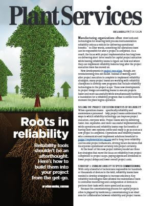 Plant Services: Roots in Reliability