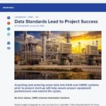 Early Project Planning of Asset Data Standards