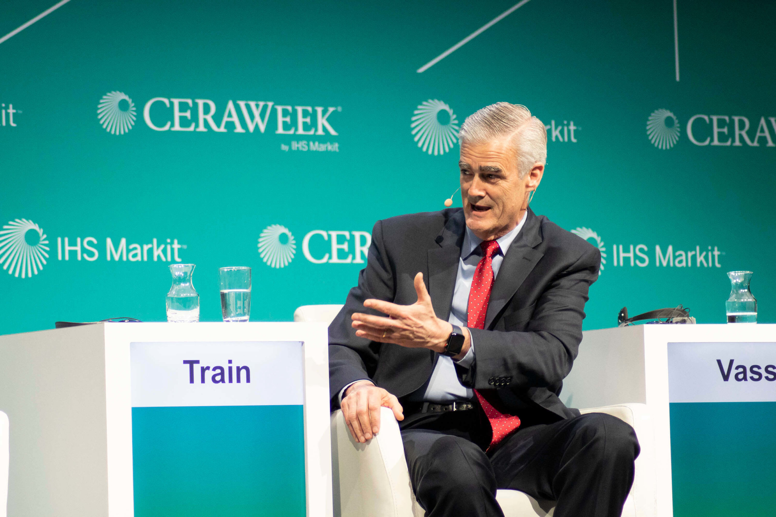 Emerson's Mike Train on extracting value from technology at CERAWeek 2019