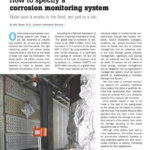 Specification Requirements for Corrosion Monitoring Systems