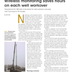 Wireless Measurements for Increased Well Workover Productivity