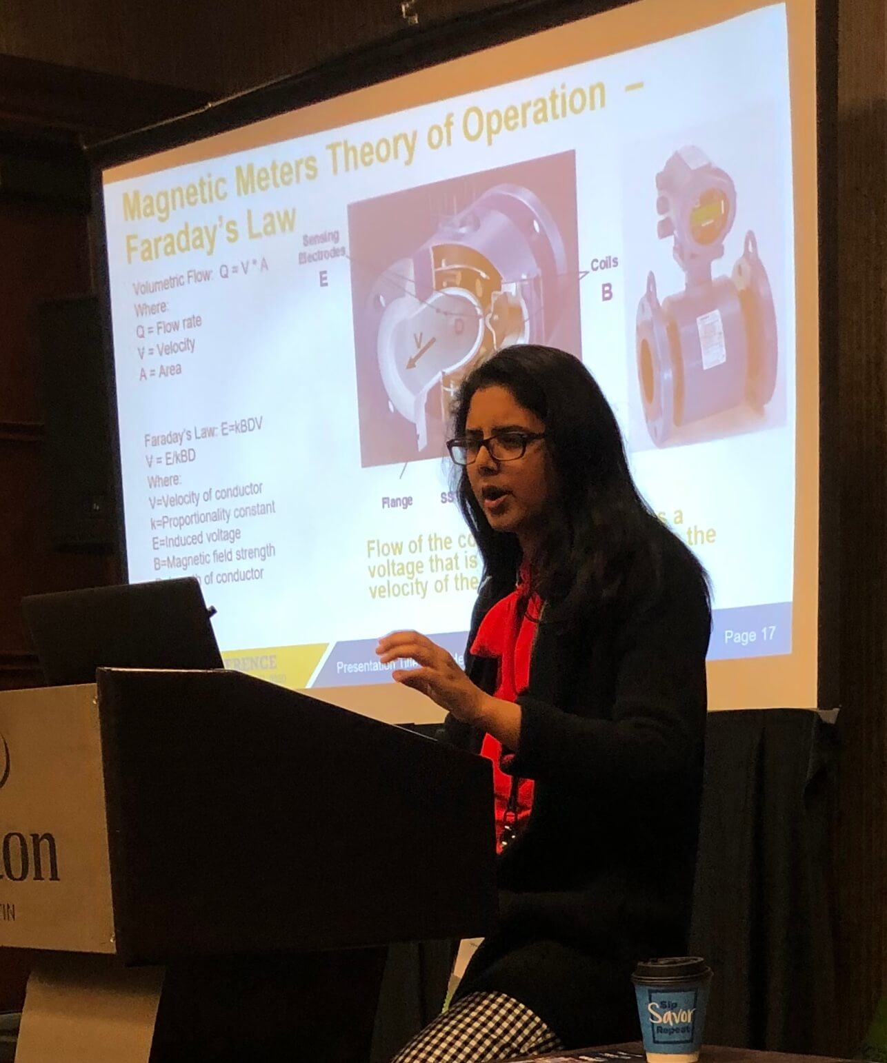 Emerson's Meha Jha presenting at 2020 4C HSE conference