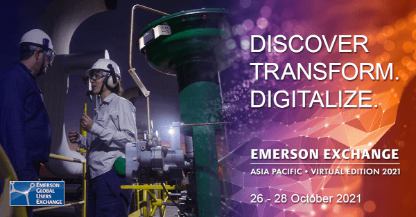 Oct 26-28 Emerson Exchange Asia-Pacific